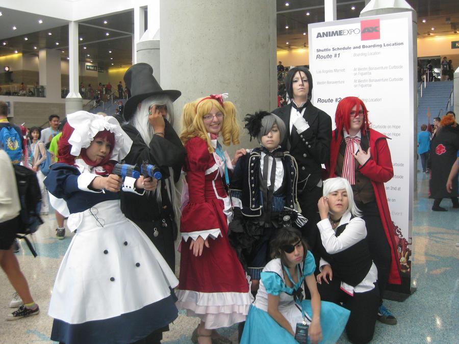Anime Expo Black Butler Group By Punkanimelover
