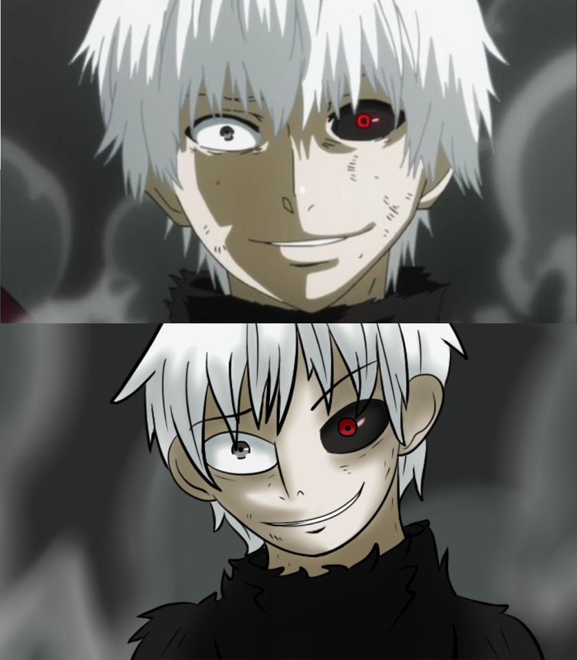 Redraw: Tokyo Ghoul by punkanimelover