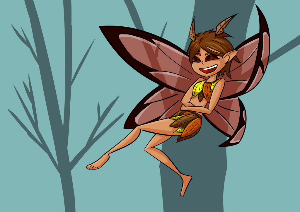 Tina the Fire Fairy by Bug88