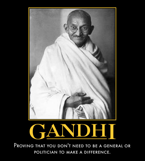 Gandhi by paxtofettel