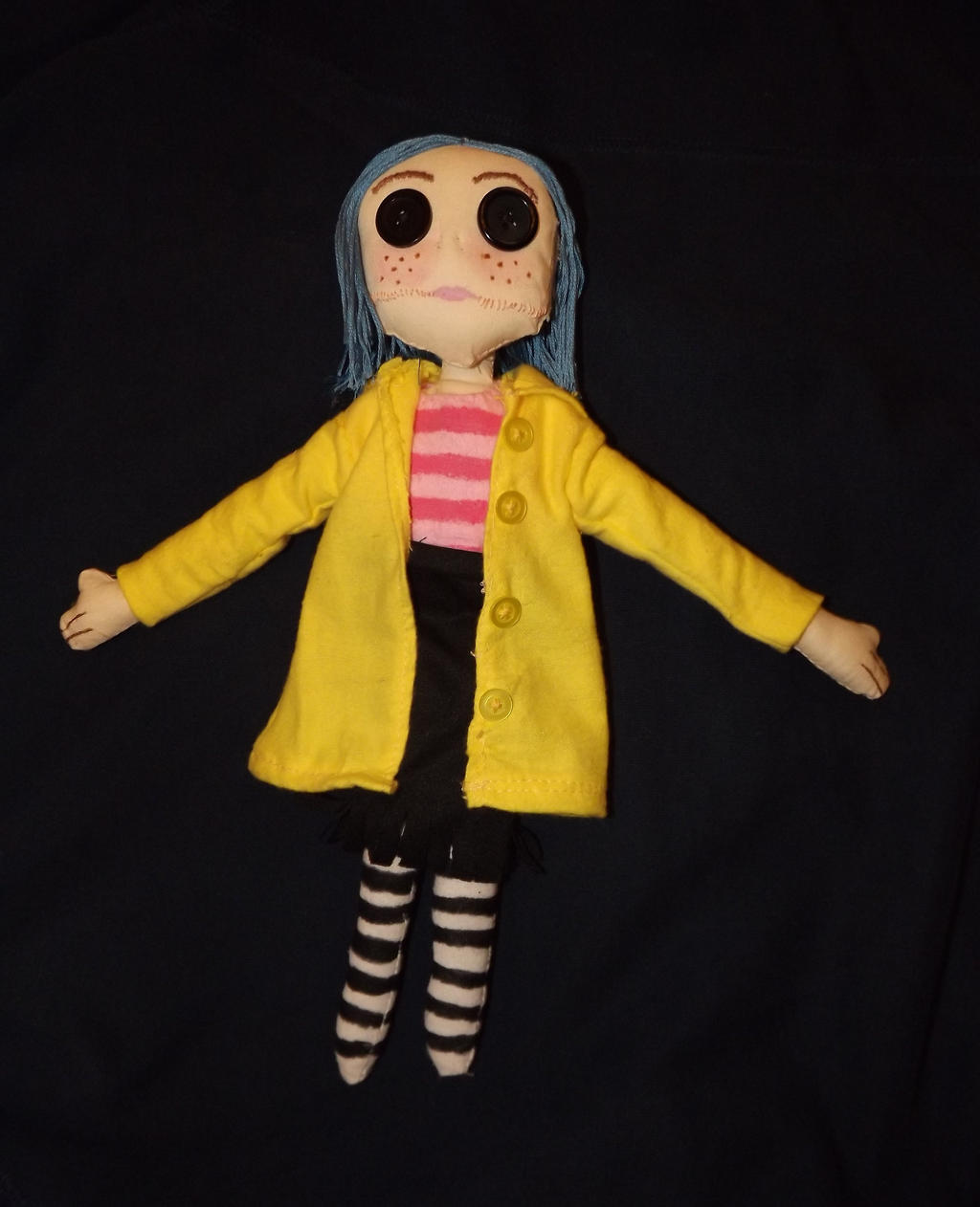 Coraline Doll By Paranoiapenguin On Deviantart