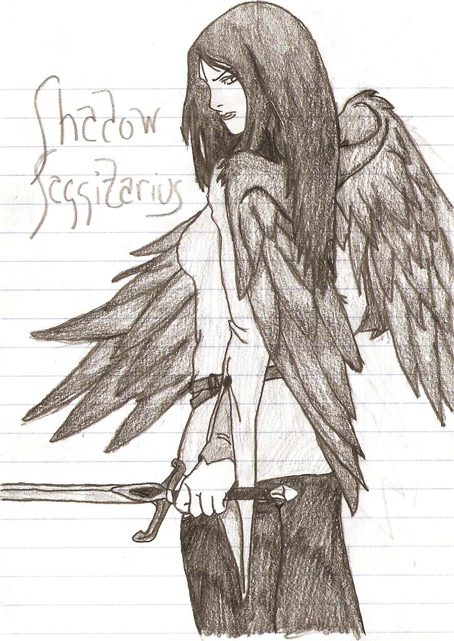 Shadow Saggitarius by WerewolfMichael