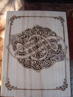 Celtic Dragon Knot Book Box by dppratt