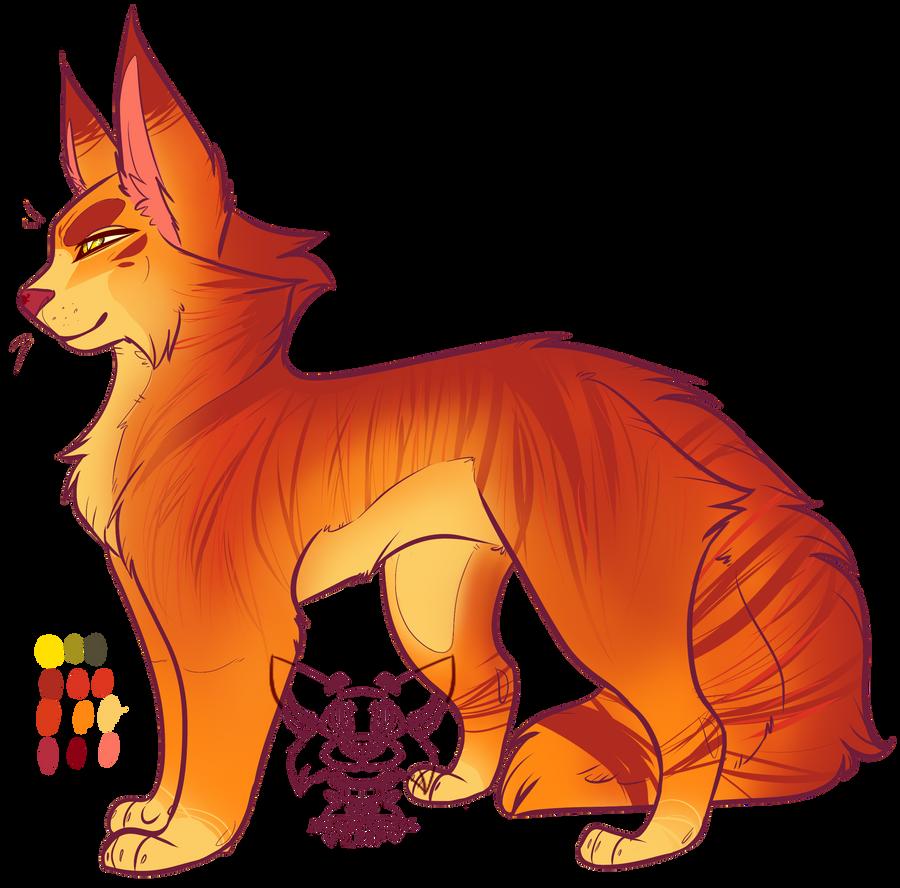 Orange Tabby Warrior Cat