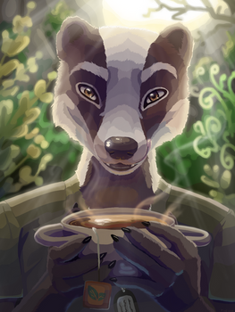 Tea - commission for WanderingGoose