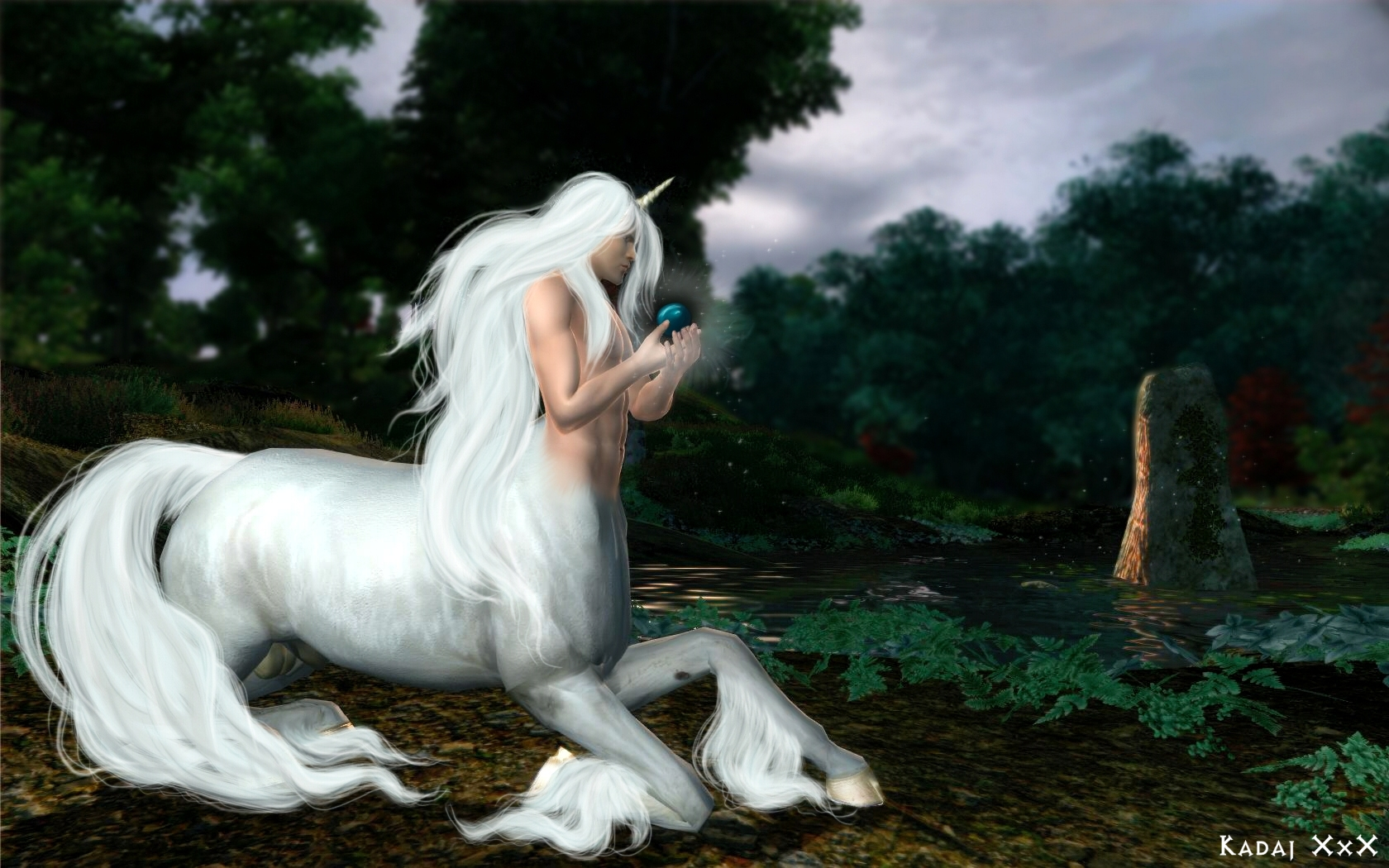 Must see   Wallpaper Horse Deviantart - centaur___white_unicorn_by_jenova87  Image_312933.jpg