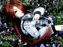 BJD: Violet by AvareonArt