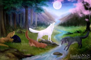 Wolf's Rain : Paradise by AvareonArt