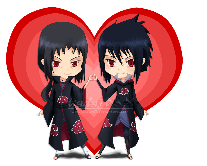 Chibi Love - Itachi and Sasuke by Jenova87 on DeviantArt