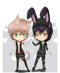 Gift: Chibi - Toma and Jaze