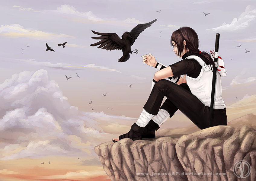 Itachi: Lonely Raven by Jenova87