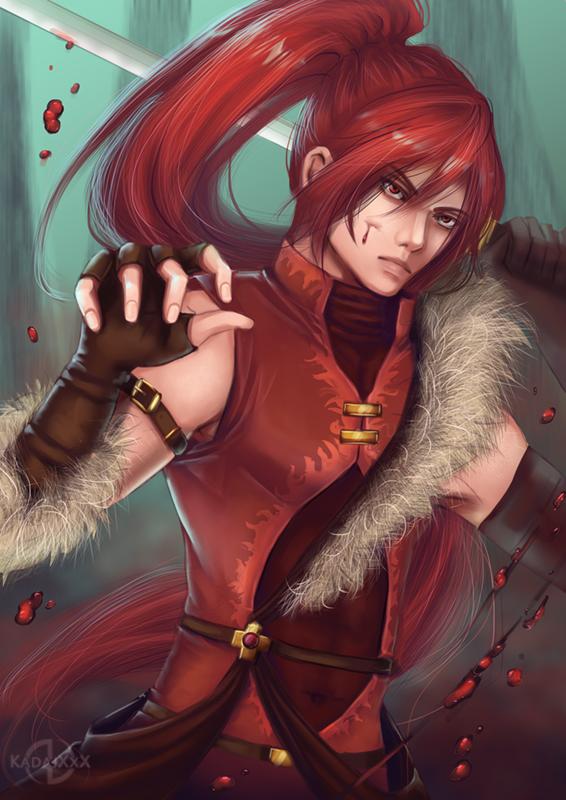 OC: Fury by AvareonArt