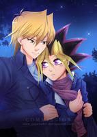 Commission: Katsuya X Yuugi by AvareonArt