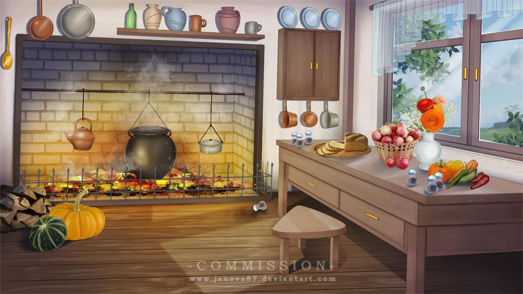 Commission: VN BG - Kitchen [Alice in Wonderland] by ...