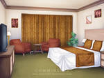 Commission: VN Background - Hotel Room