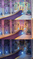 Commission BG: Throne Room