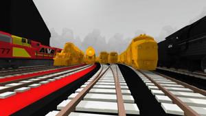 Rolling Line Golden Locomotives