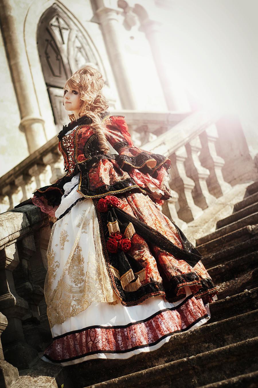 Hizaki Versailles Cosplay by ann-emerald