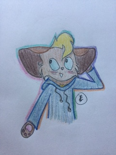 Requested- VixeyIsTrash 's OC 'Ethan' by funbubble101