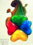Creation of a Rainbow