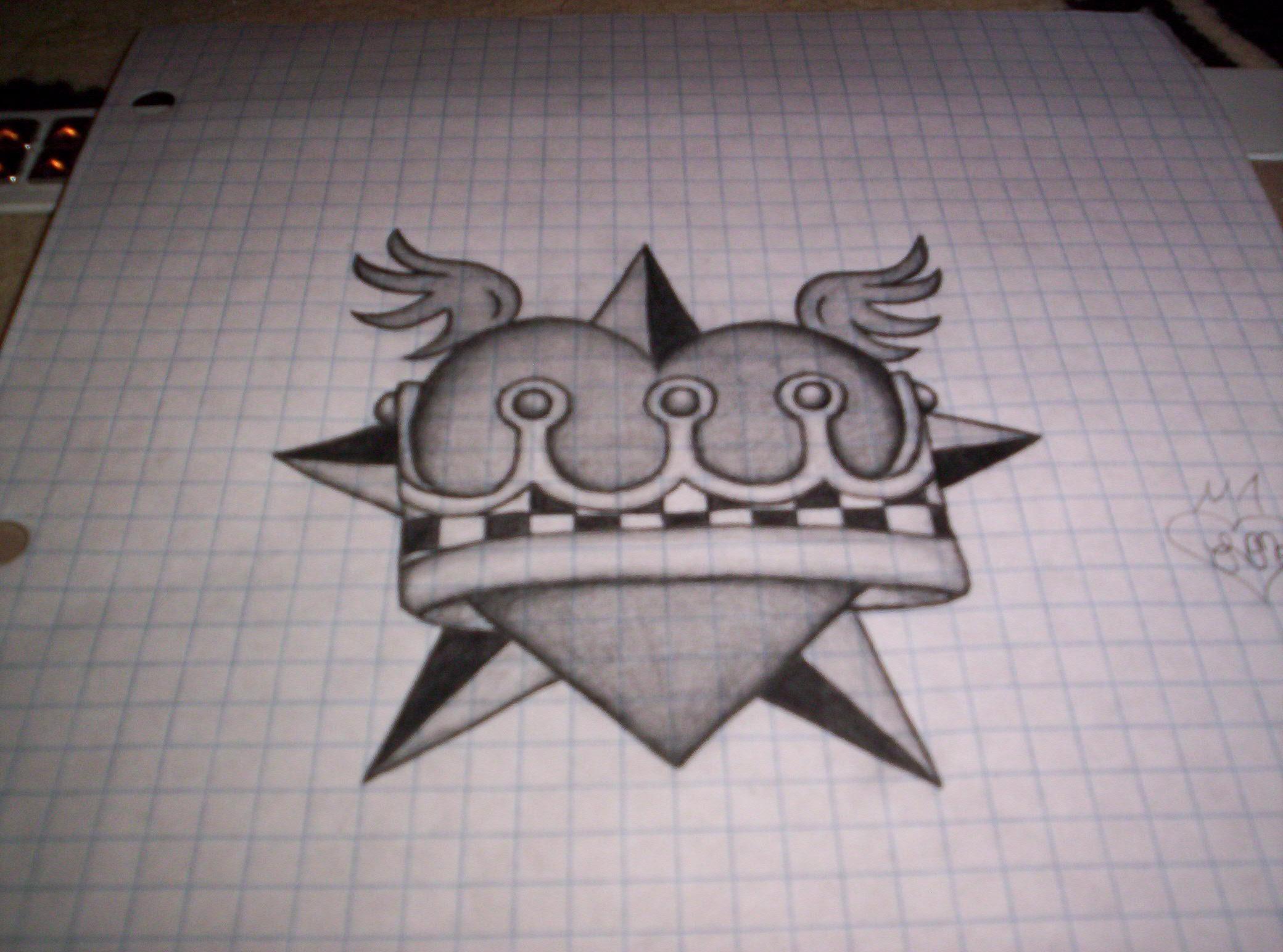 heart, crown, nautical star..? by Letseatjimy on DeviantArt