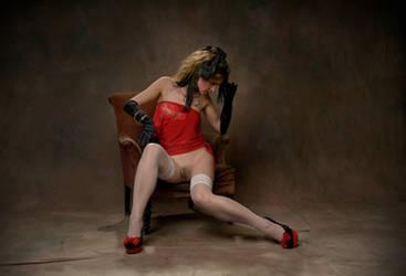 An armchair and his fantasies III by JREKAS