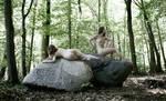 Two women - II by JREKAS