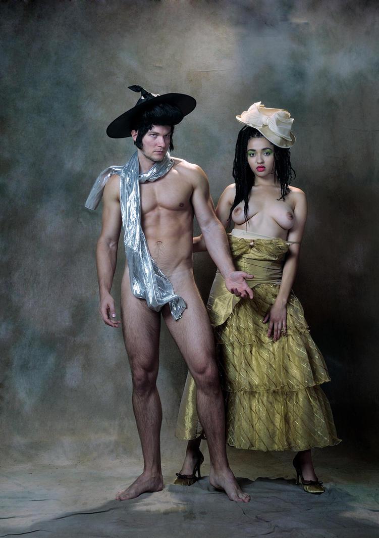 Don Elvis and Miss Esmeralda by JREKAS