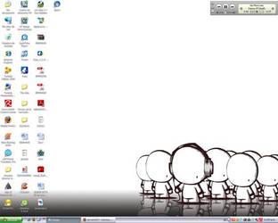 My desktop by huonero