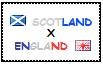 .: Scotland x England Stamp by ChokorettoMilku