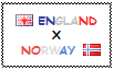 .: England x Norway Stamp by ChokorettoMilku