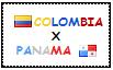 .: Colombia x Panama Stamp by ChokorettoMilku
