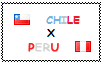 .: Chile x Peru Stamp by ChokorettoMilku
