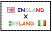 .: England x Ireland Stamp by ChokorettoMilku