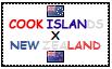 .: Cook Islands x New Zealand Stamp by ChokorettoMilku