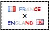 .: France x England Stamp by ChokorettoMilku