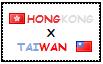 .: Hong Kong x Taiwan Stamp by ChokorettoMilku