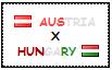 .: Austria x Hungary Stamp by ChokorettoMilku