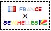 .: France x Seychelles Stamp by ChokorettoMilku