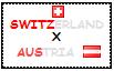 .: Switzerland x Austria Stamp by ChokorettoMilku