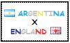 .: Argentina x England Stamp by ChokorettoMilku