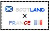 .: Scotland x France Stamp by ChokorettoMilku