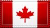 Canada Flag Stamp by ChokorettoMilku