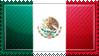 Mexico Flag Stamp