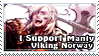 I Support Manly Viking Norway by ChokorettoMilku