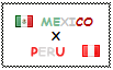 .: Mexico x Peru Stamp by ChokorettoMilku