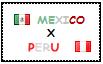 .: Mexico x Peru Stamp by ChokorettoMilku