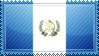 Guatemala Flag Stamp by ChokorettoMilku