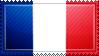 France Flag Stamp by ChokorettoMilku