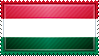 Hungary Flag Stamp by ChokorettoMilku